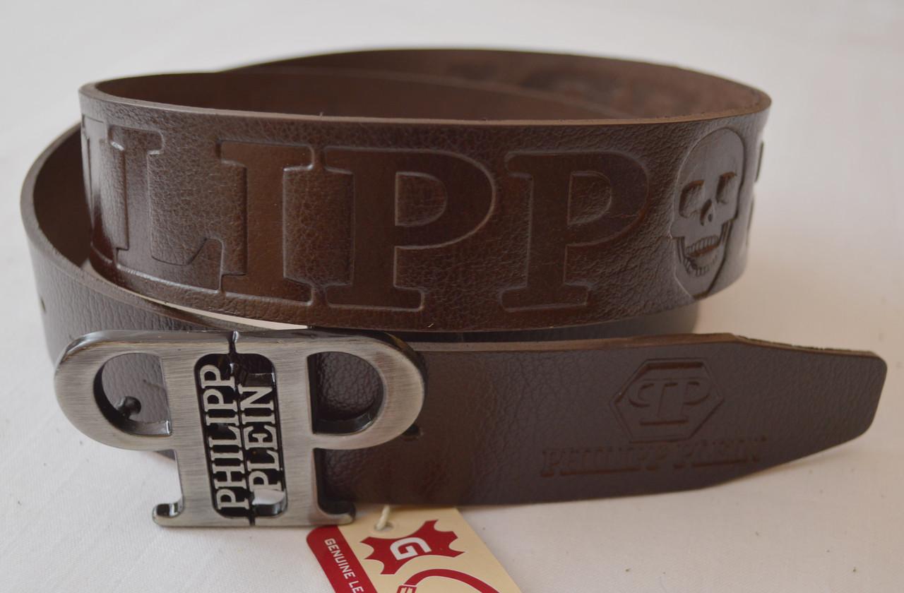 Кожаный  ремень PHILIPP PLEIN (копия)