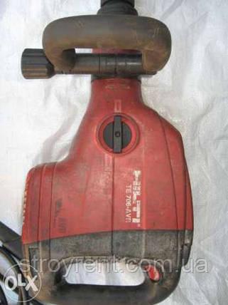 Отбойный молоток HILTI ТЕ 706-AVR - аренда прокат, фото 2