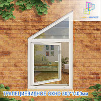 Окна пластиковые трапеции Киев, фото 1