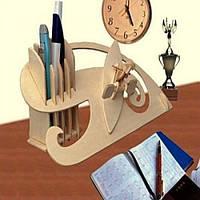 Подставка для ручек «Гребец»