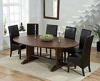 """Розкладний обідній стіл """"Мішель"""" з дуба, фото 1"""