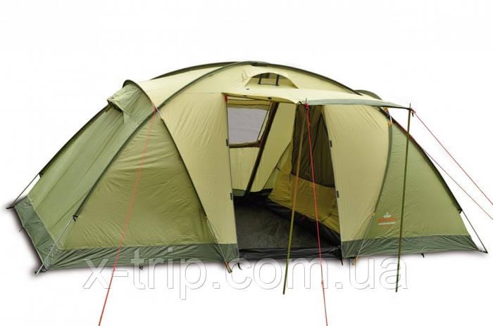 Кемпинговая палатка 4 х местная Pinguin Base Camp