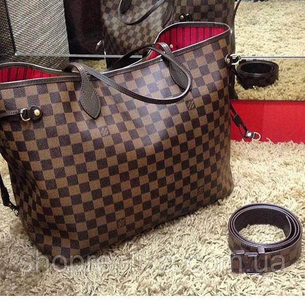 d40fdb1d088a Сумка копия Louis Vuitton neverfull mm monogram, цена 989 грн., купить Київ  — Prom.ua (ID#247286953)