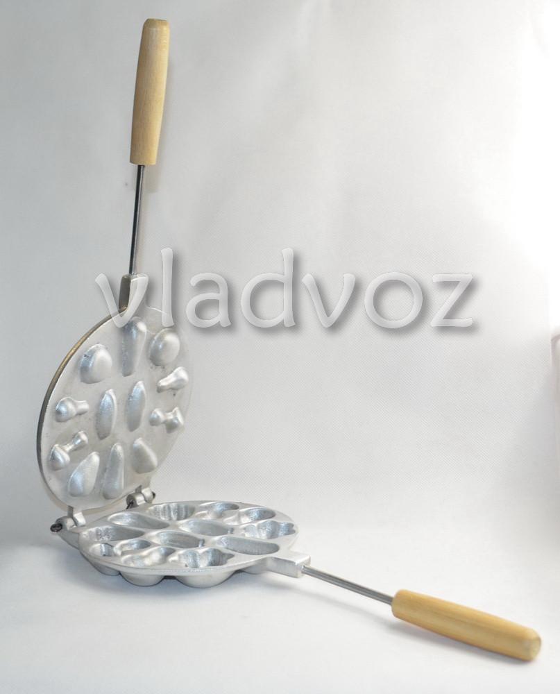 алюминиевая форма для печенья ассорти
