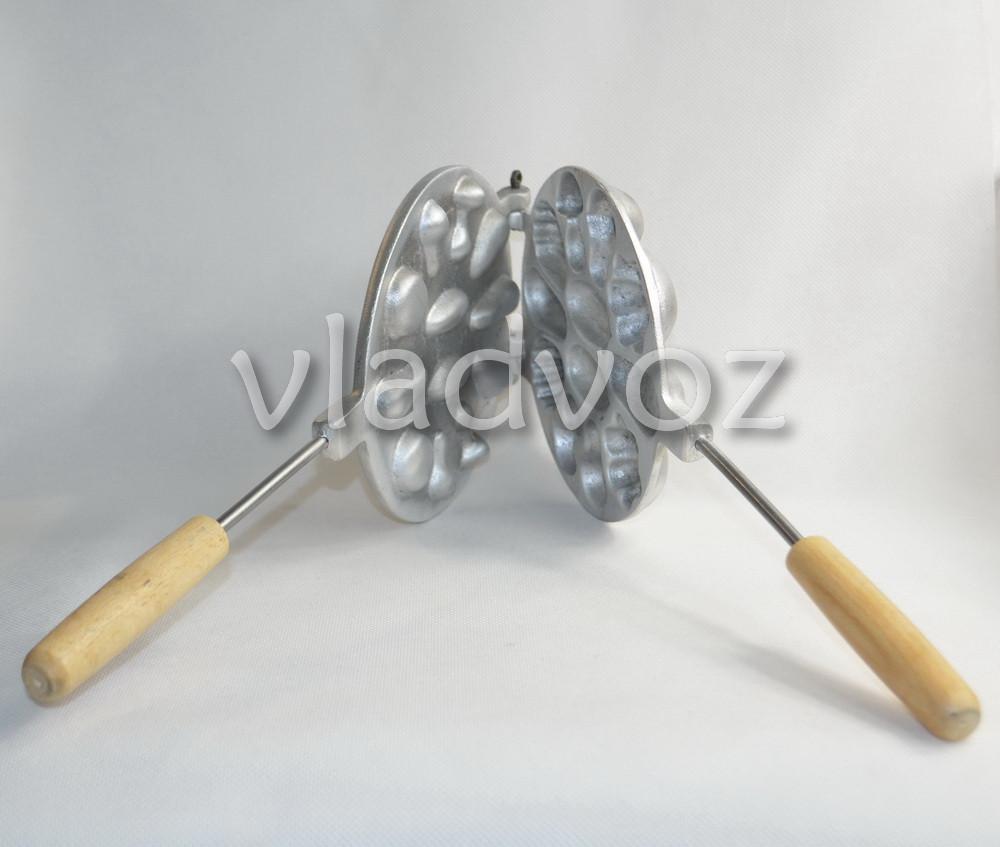 фото алюминиевой формы для печенья ассорти вид сбоку