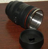 Чашка - объектив - термос - кружка Крышка для питья обьектив , фото 3