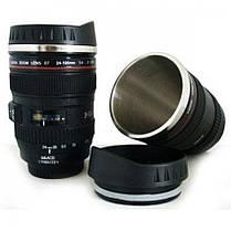 Чашка - объектив - термос - кружка Крышка для питья обьектив , фото 2