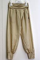 Штаны-алладины, с карманами,  на резинке, бренд нарядной одежды Illudia, Италия