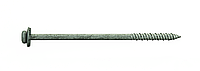 Шуруп по бетону для сэндвич-панелей 7,5х150 RAL 9006, с шайбой EPDM, (упак-400 шт), Швеция, фото 1