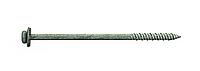 Шуруп по бетону для сэндвич-панелей 7,5х150 RAL 9006, с шайбой EPDM, (упак-400 шт), Швеция