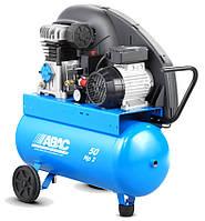 Компрессор масляный с ременным приводом, объем ресивера 50л., ABAC A29 50CM2.