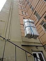 Поднять груз, мебель столешницу в окно на этаж в Киеве