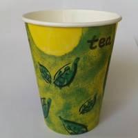 Стакан бумажный 240 мл чай