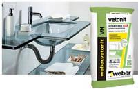 """Шпаклевка """"Vetonit VH White"""" водостойкая на цементной основе, 20кг"""