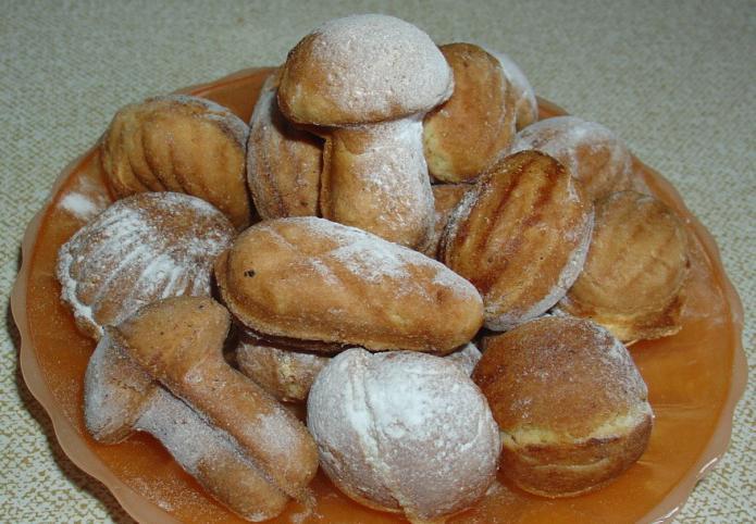 фото готового печенья грибочки из формы вид сбоку