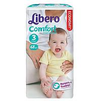 """Подгузники """"Libero Comfort""""3 (4-9 кг) 68 шт."""