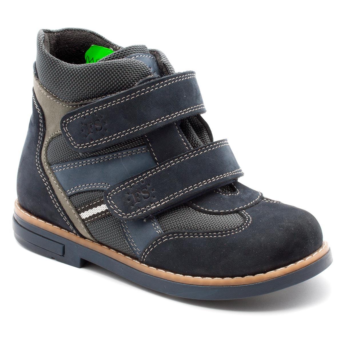 Демисезонные ортопедические ботинки FS Сollection для мальчика, на липучке, размер 20-30, фото 1
