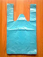 Пакеты-майка 25*45/ 15 мкм полиэтиленовые фасовочные, пакет упаковочный купить Киев