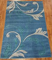 Рельефный  ковер Melisa 371 синий