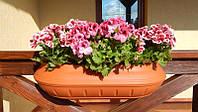 Уличный горшок для цветов Вазон настенный 750