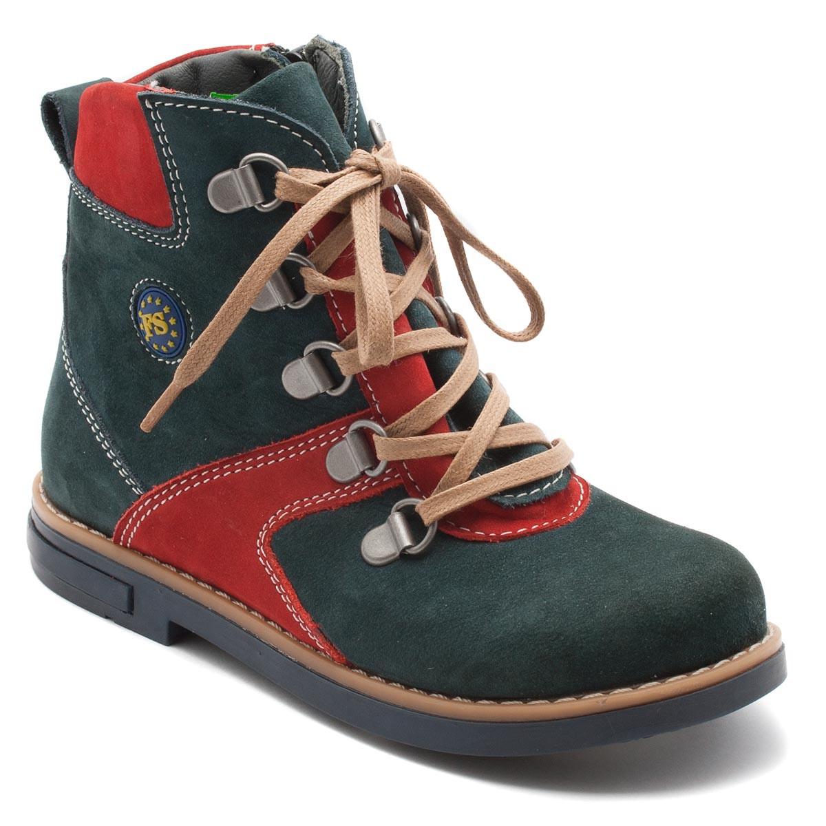 Ботинки FS Сollection на мальчика, демисезонные, зеленые, размер 26-31