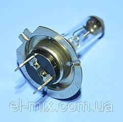 Лампочка автомобільна H7 12V 55W прозора Vipow ZAR0166