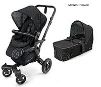 Детская универсальная коляска 2 в 1 Concord Neo (люлька Scout) 2016 Midnight black