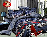 Евро-maxi комплект постельного белья TAG 3D PS-BL7860