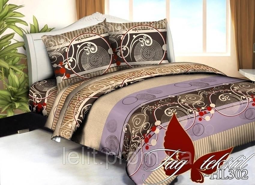 Евро-maxi комплект постельного белья TAG 3D PS-HL302
