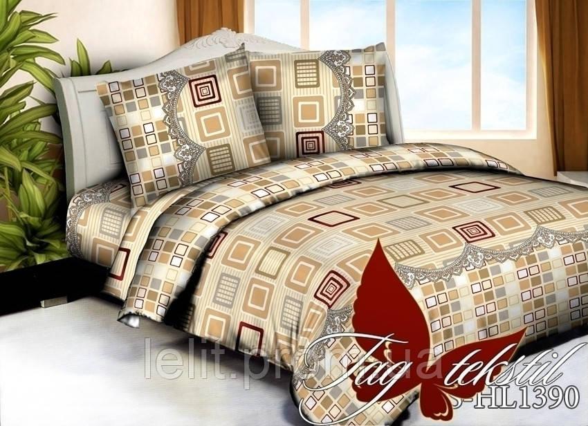 Евро-maxi комплект постельного белья TAG 3D PS-HL1390