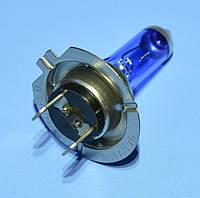 Лампочка автомобильная 12V H7-B4 55W синяя Vipow  ZAR0171