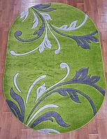 Рельефный ковер Melisa 395 зеленый