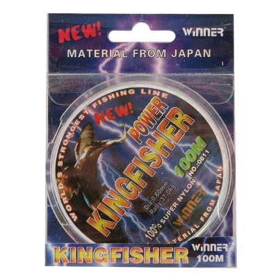 Монофильная леска Winner Kingfisher 100m 0,40мм