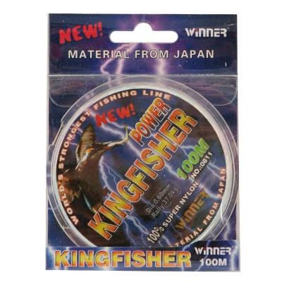 Монофильная леска Winner Kingfisher 100m 0,40мм, фото 2