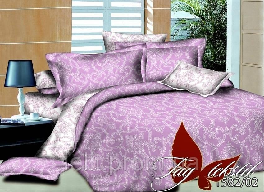 Евро-maxi комплект постельного белья TAG PL1582-02