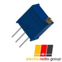 Резистор подстроечный 3296W     100 Ом
