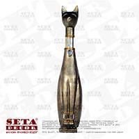 """Скульптура """"Египетский кот"""" каменная крошка (статуэтка, фигурка)."""