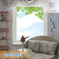 """Пластиковые одностворчатые глухие окна 800x1400 Openteck """"Окна Маркет"""", фото 1"""