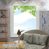 """Пластиковые одностворчатые глухие окна 800x1400 Openteck """"Окна Маркет"""""""