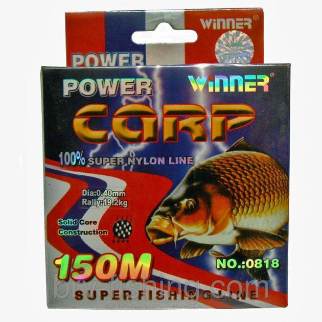 Леска Winner Power Carp 150 м, 0.20 mm