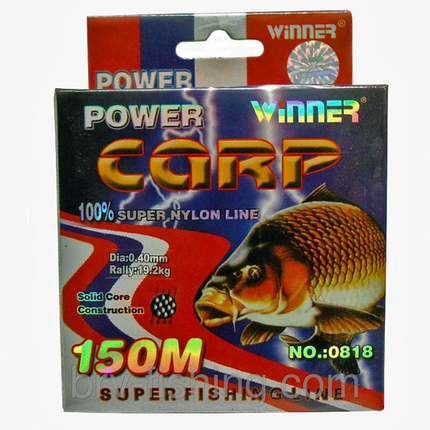 Леска Winner Power Carp 150 м, 0.20 mm, фото 2
