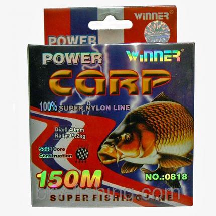 Леска Winner Power Carp 150 м, 0.30 mm, фото 2