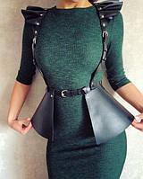 Портупеи из натуральной кожи, на платье, юбка, пальто
