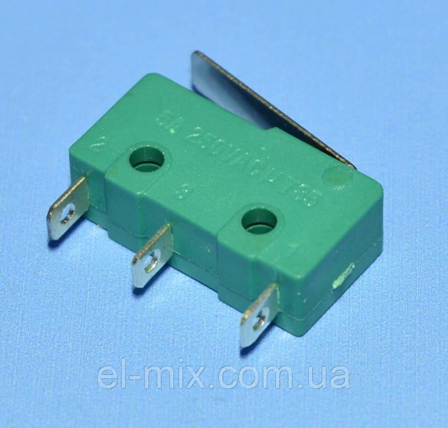 Микропереключатель 20х11х6мм MSW-12 3pin с короткой планкой  PRK0021