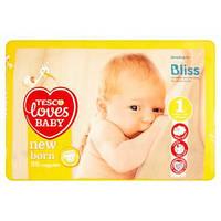 Подгузники Tesco Loves Baby №1(2-5 кг) 25 шт