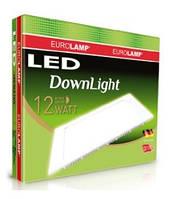 Светильник квадратный LED 12W Eurolamp