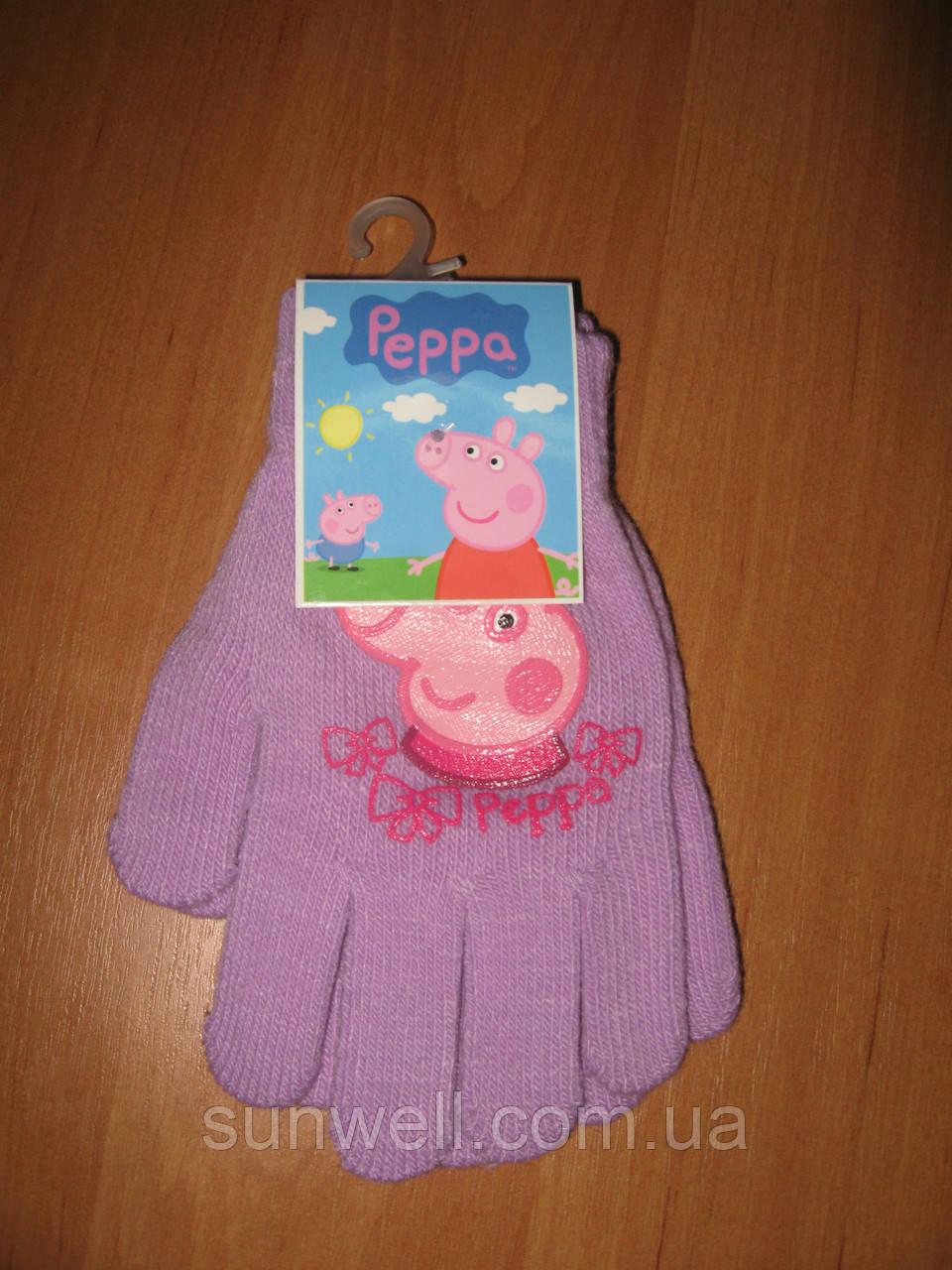 Рукавички для дівчаток Пеппа, 16см