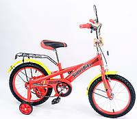 """Двухколесный детский велосипед 16 дюймов 151602 """"Super Bike"""""""
