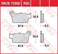 Тормозные колодки TRW / Lucas MCB739RSI