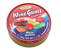 Жевательные конфеты Wine Gums Woogie, 145 гр.